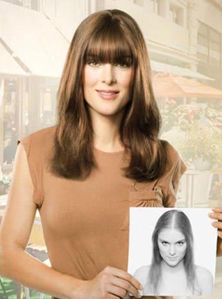 Haarverdichtung - vorher- nachher
